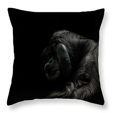 Insecurity Throw Pillow by Paul Neville