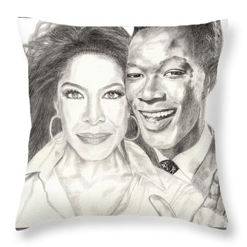 Inseparable And Unforgettable Throw Pillow