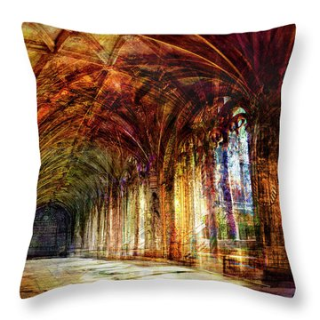 Inside 2 - Transit Throw Pillow by Alfredo Gonzalez