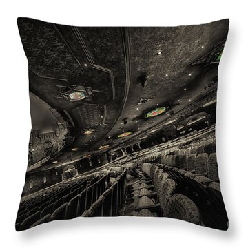 Inside Fox Theater Throw Pillow
