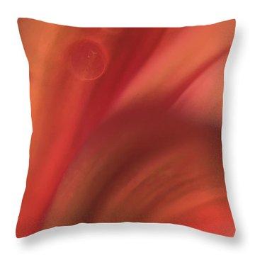 Inside Jupiter, Artists Rendition Throw Pillow