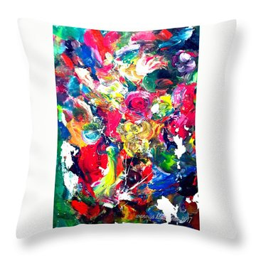 Inside My Mind 3 Throw Pillow