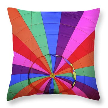 Inside Out Throw Pillow by Marie Leslie