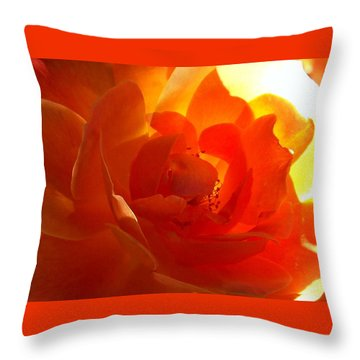 Inside Passion Throw Pillow