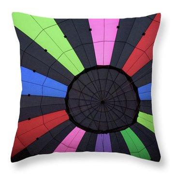 Inside The Balloon Throw Pillow
