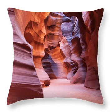 Inside The Canyon Throw Pillow