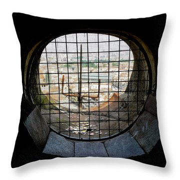 Inside The Duomo Dome 12 Years Later Throw Pillow