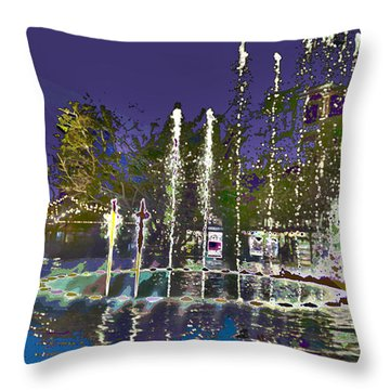 inside the heart of Glendale - 200,000 hearts beat Throw Pillow