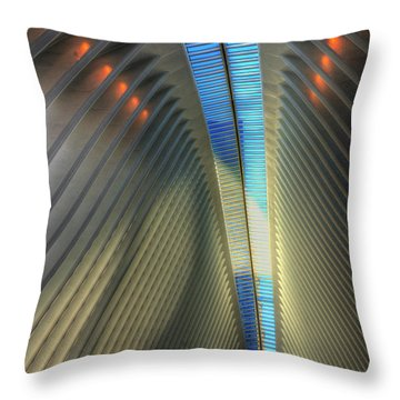 Inside The Oculus Throw Pillow