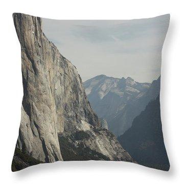 Inside Yosemite Throw Pillow