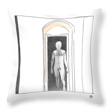 Insomnia 2 Throw Pillow by Stan Magnan