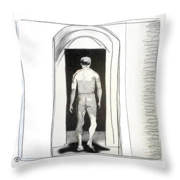 Insomnia 3 Throw Pillow by Stan Magnan