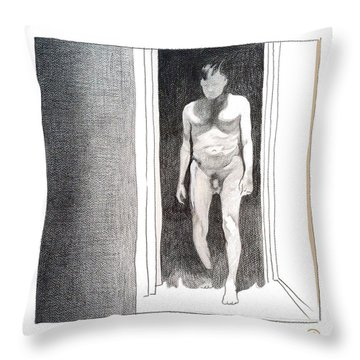 Insomnia 4 Throw Pillow by Stan  Magnan