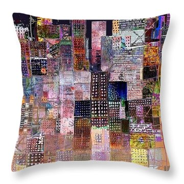 Insomnia Throw Pillow by Andy  Mercer