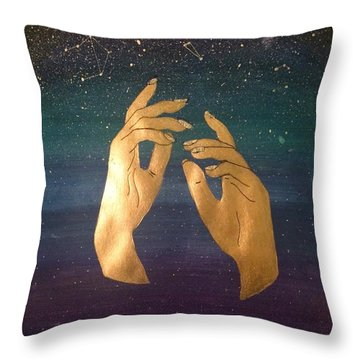 Insomniac Believer Throw Pillow