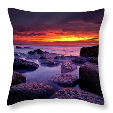 Inspiration Throw Pillow by Jorge Maia