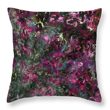 Inspiration Never Visits The Lazy Throw Pillow by Antonio Ortiz