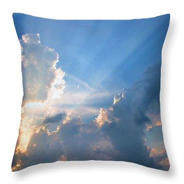 Inspiration Point Throw Pillow by Kristin Elmquist