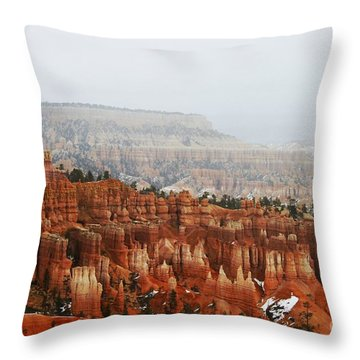 Inspiration Point Throw Pillow by Scott Cameron