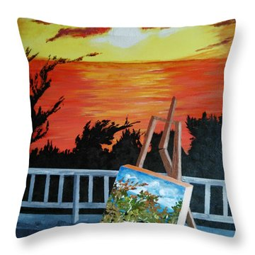 Inspiration Throw Pillow