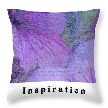 Throw Pillow featuring the photograph Inspiration by Traci Cottingham