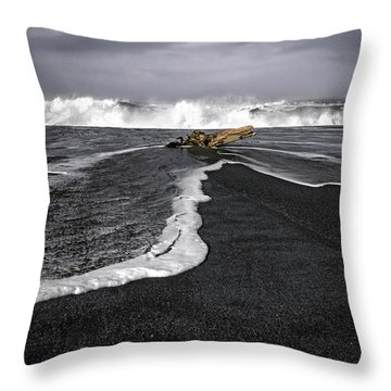Inspirational Liquid Throw Pillow