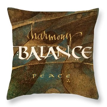 Inspirational Words Throw Pillow