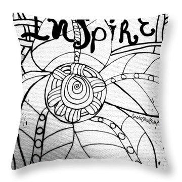 Inspire Throw Pillow