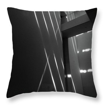 Inspired #4  Sunlit Artwork Throw Pillow