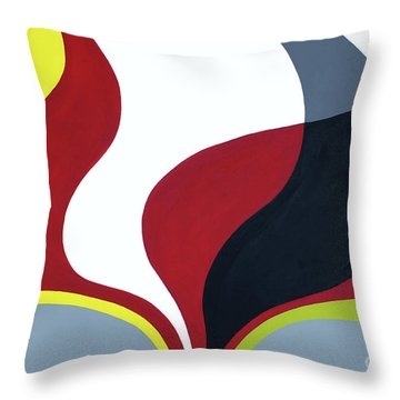 Inspired By Mid Century Modern Throw Pillow by GG Burns