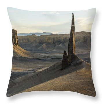 Throw Pillow featuring the photograph Inspired Light by Dustin LeFevre