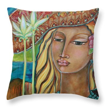 Inspired Throw Pillow by Shiloh Sophia McCloud