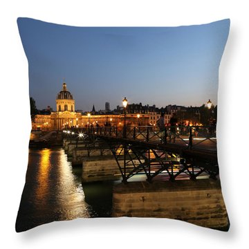 Throw Pillow featuring the photograph Institute Of France by Andrew Fare