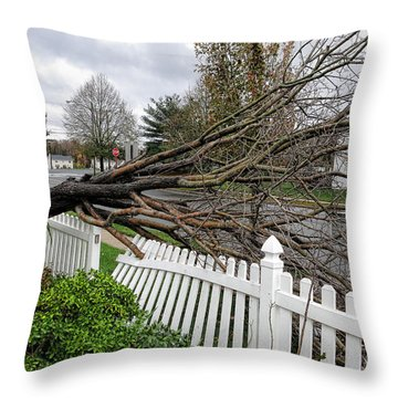 Insurance Claim Throw Pillow