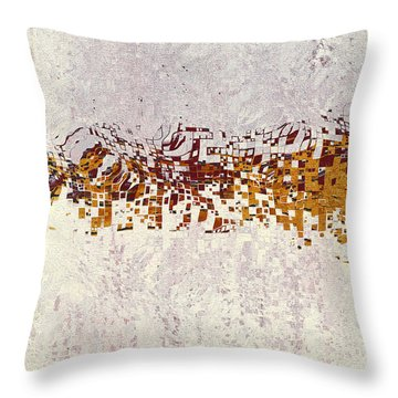 Insync 2 Throw Pillow