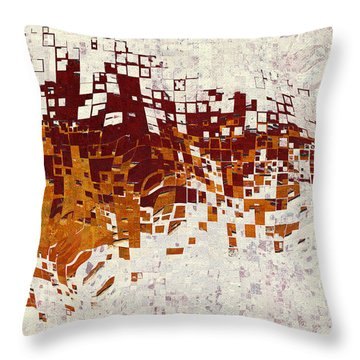 Insync Throw Pillow