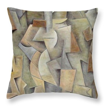 Integrity Throw Pillow by Trish Toro