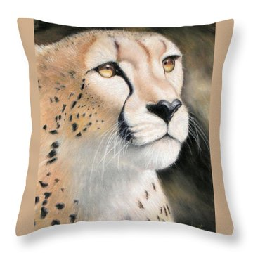 Intensity - Cheetah Throw Pillow