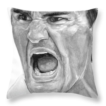 Intensity Federer Throw Pillow