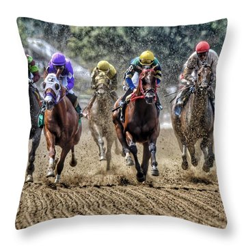 Intensity Throw Pillow