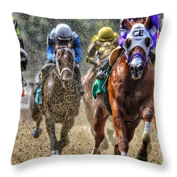 Intensity#2 Throw Pillow