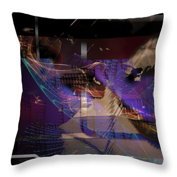 Intensive Variable Throw Pillow