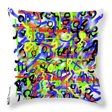 Intention Somniack Throw Pillow