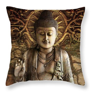Intentional Bliss Throw Pillow