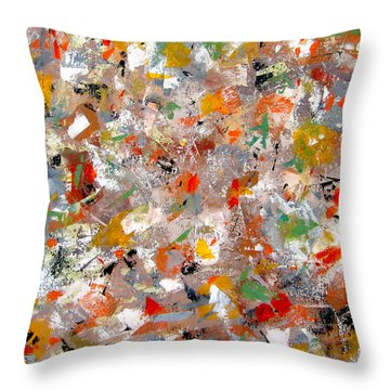 Interaction II Throw Pillow