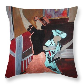 Intercession Throw Pillow by Kelly Turner