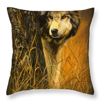 Interested Throw Pillow