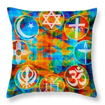 Interfaith 1 Throw Pillow