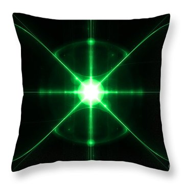 Intergalactic Throw Pillow