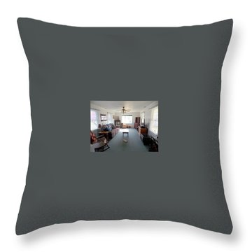 Interior Living Room Throw Pillow
